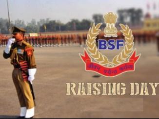 BSF Raising Day