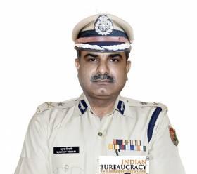 Madhup Kumar Tewari IPS AGMUT