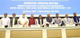 ECI organizes briefing meeting of General, Police and