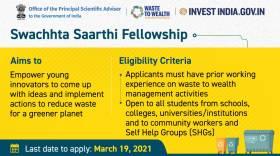 Swachhta Saarthi Fellowship