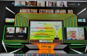 NMSHE's ICAR Team awarded