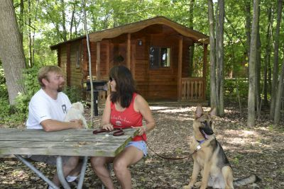 Southeastern Michigan Cabin Rentals At Family Friendly Campgrounds