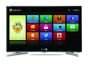 Mitashi MiDE040v02 FS 100 cm (40 inches) Full HD Smart LED TV