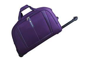 Safari Revv Polyester 55 cms Purple Softsided Travel Duffle
