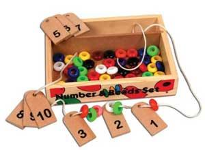 Skillofun Number and Bead Set