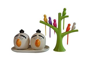 DRL Salt N Pepper Set & Fruit Fork