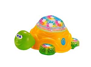 Sunshine Bump and Go Turtle Toy with 3D Lights and Music