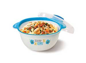 Joyo Better Home Chef Printed Plastic Casserole
