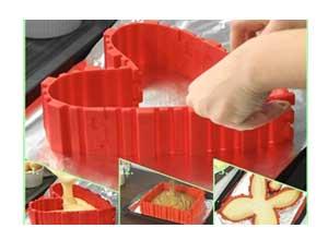 Magic Cake Baking Snake Silicone Tool
