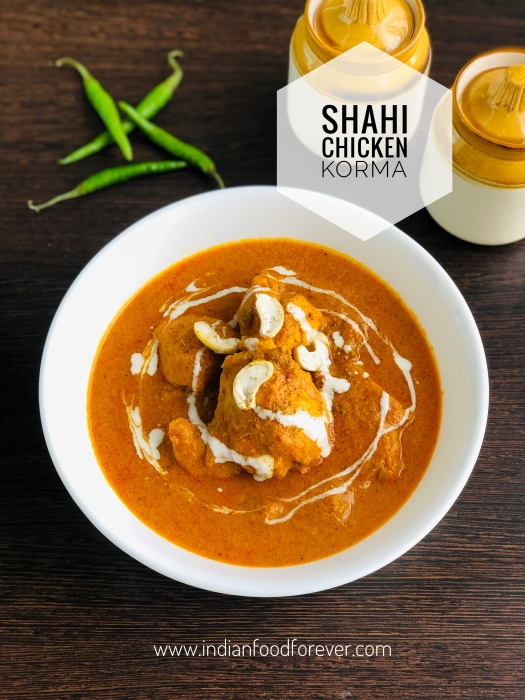 shahi chicken korma 2