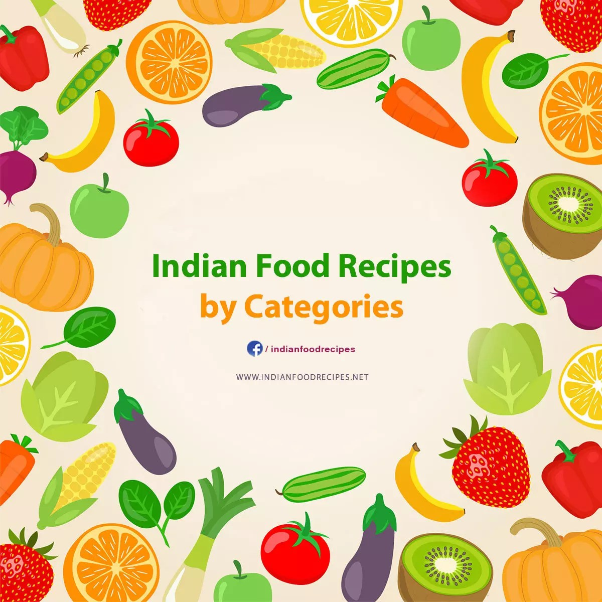 Indian Food Recipes Categories