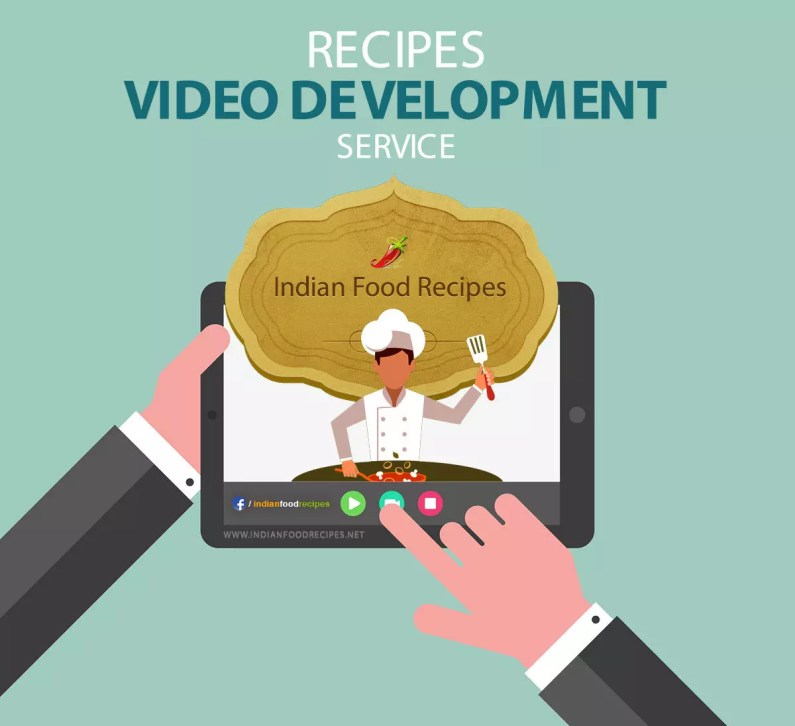 Recipe Video Development Service India
