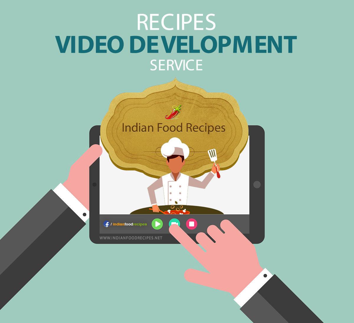 Recipe Video Development Service