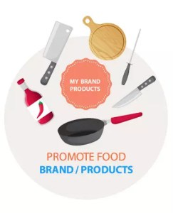 Promote Food Brands and Products