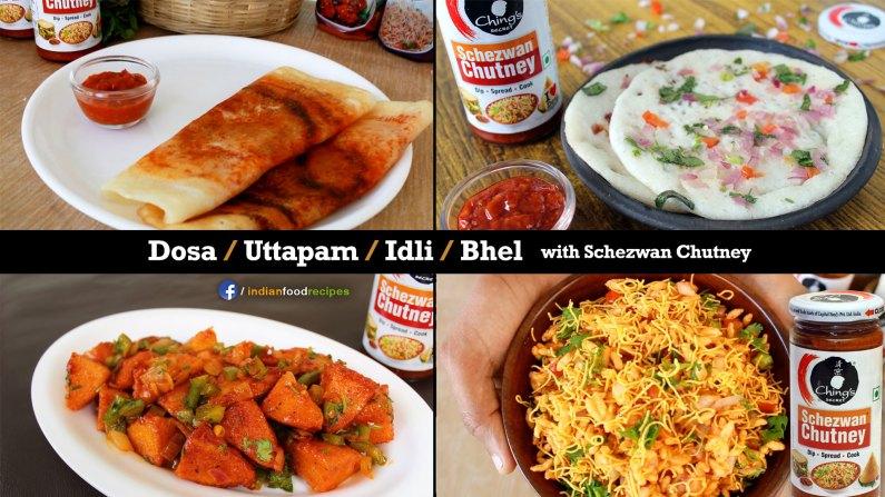 4 Ching's Secret Schezwan Chutney recipes dosa uttapam idli bhel