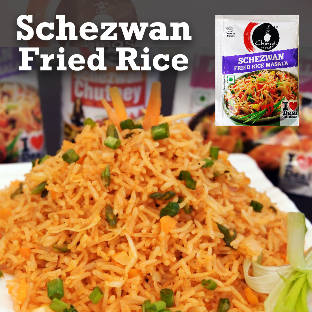 Schezwan Fried Rice recipe step by step