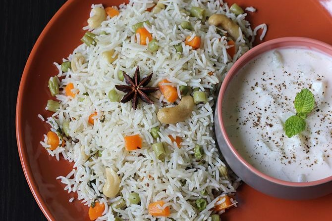 Rice Veg Cooker Pulao