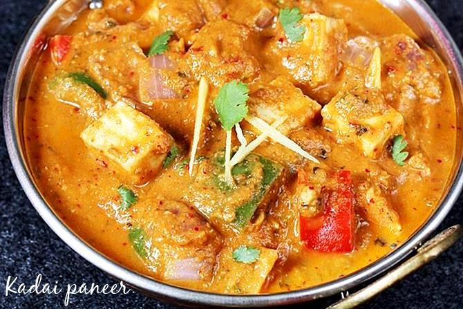 Paneer recipes   60 delicious paneer recipes   Easy Indian paneer     Kadai paneer gravy is another simple and flavorful dish made basic freshly  ground spices known as kadai masala  There is no cream used in this recipe