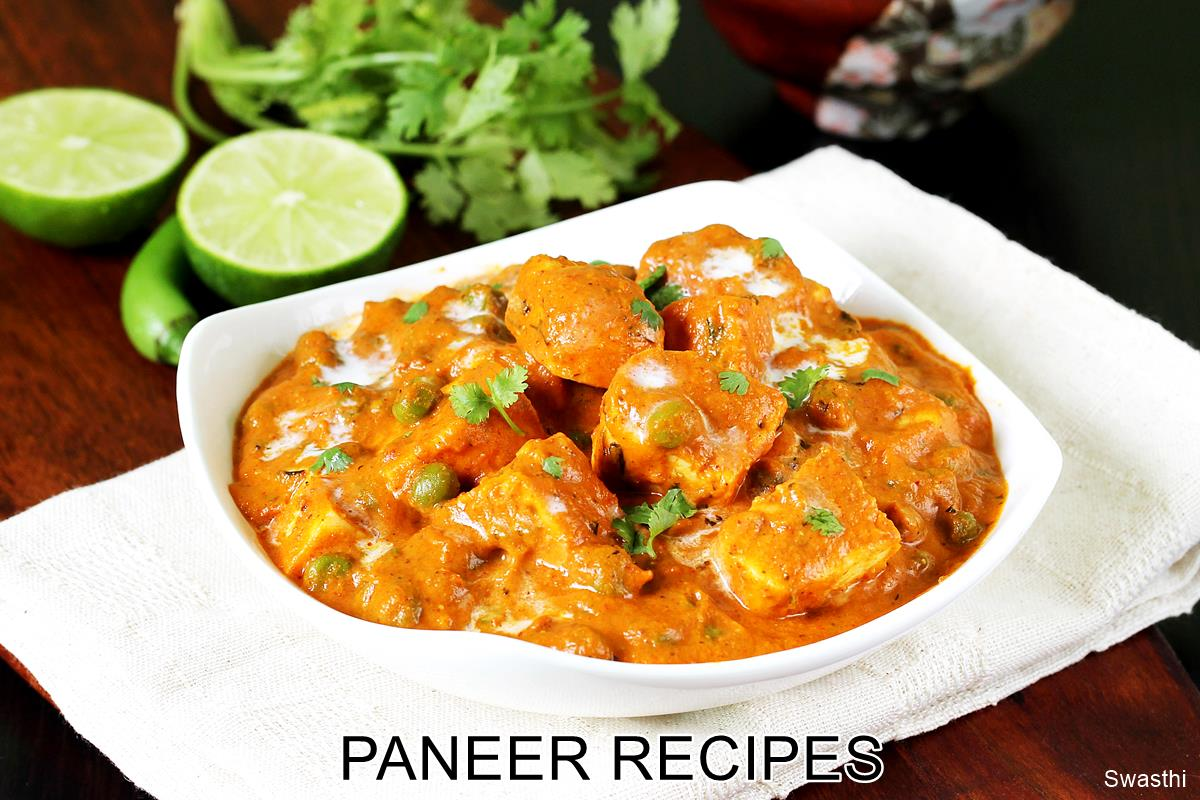 Paneer recipes   60 delicious paneer recipes   Easy Indian paneer     Here are the 60 recipes from this blog which you can try  Most of these are  restaurant style  healthy  home style  north Indian and south Indian recipes