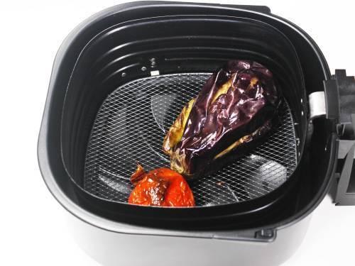 air fried eggplants