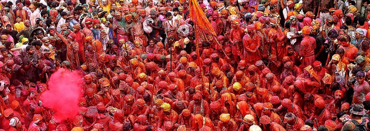 Barsana Holi In Uttar Pradesh 2019 Festival In India