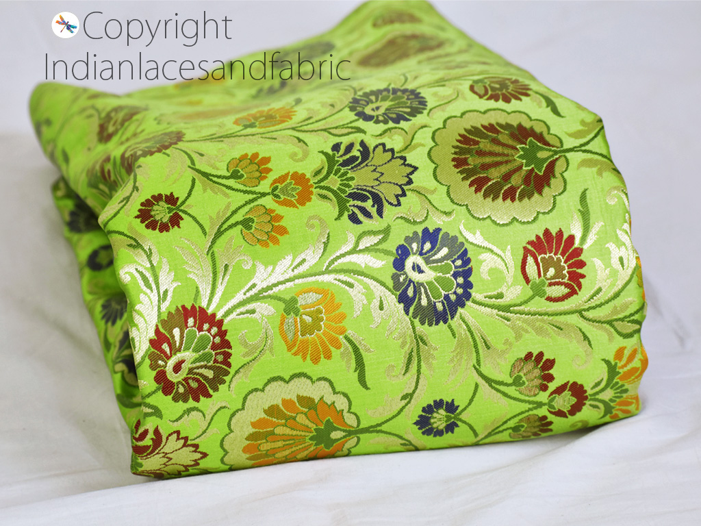 these beautiful embroidered fabric can be used for adding unique look in your sofa covers
