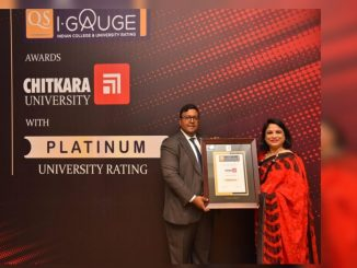 """Chitkara University becomes India's first university to get the coveted """"PLATINUM"""" Rating by QS I-GAUGE - Times of India"""