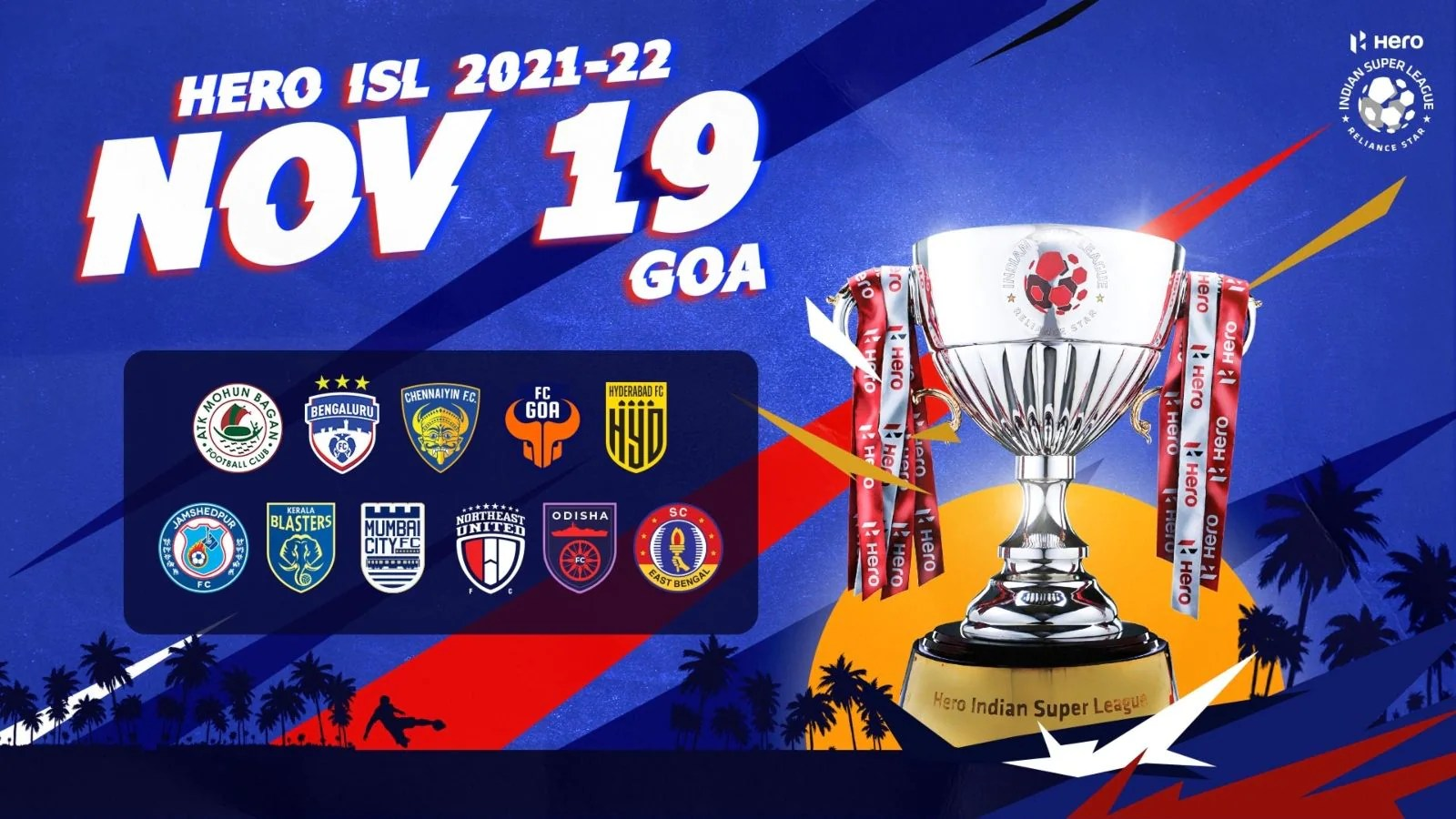 ISL 2021-22 Fixtures Out: League Begins on Nov 19 with