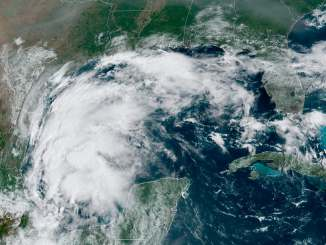 Tropical Storm Nicholas swirls in the Gulf of Mexico and heads for Texas
