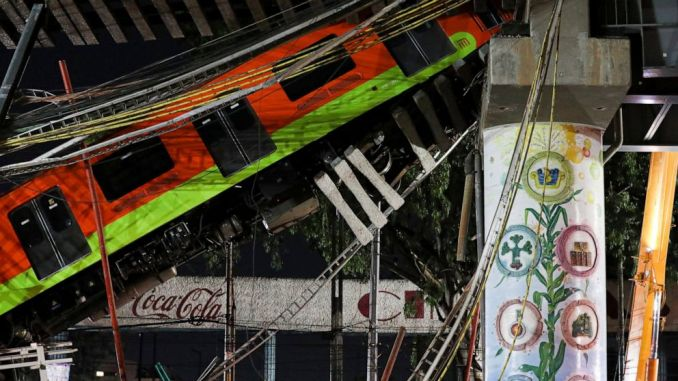 Mexico City: criminal charges brought in subway collapse