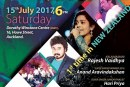 Super Veena artiste with Super Singers for Auckland