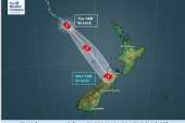 A look at how Cyclone Gita will affect New Zealand