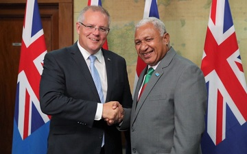 Australia PM's visit opens a new Chapter with Fiji