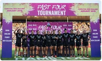 Black Ferns win in the Women's Seven Final