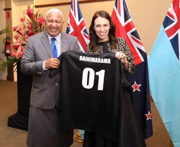 Bainimarama extols Jacinda Ardern's leadership