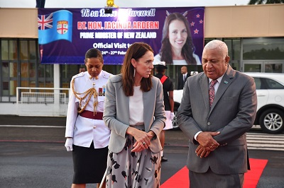 Ardern's visit lifts New Zealand-Fiji bilateral bond