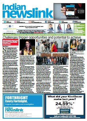 Indian Newslink August 15, 2020 Digital Edition