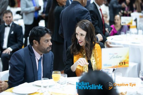 Pictures taken at Indian Newslink Tenth Annual Lecture on August 6, 2020