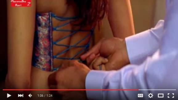 Desi indian wife dress change - Husband romance with wife hot scene - YouTube 2016-03-21 23-40-42