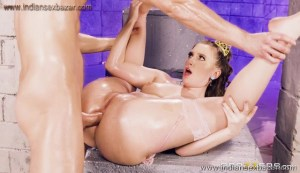 Brunette princess Harley Jade oiled up and fucked deep Full HD Porn FREE Download XXX00015