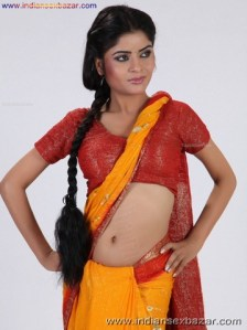 Hot and Sexy Bhabhi भाभी सामान के फोटो Indian Bhabhi hot and sexy in saree blouse (8)