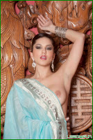 Sunny Leone fully uncovered and quick of enjoyment