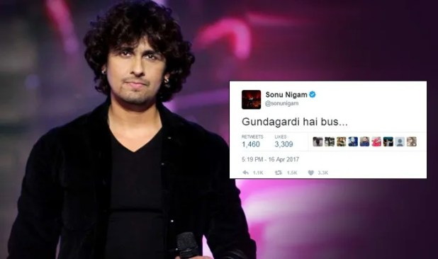 Sonu Nigam Tweet on Azaan