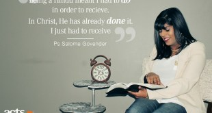 salome govender acts church