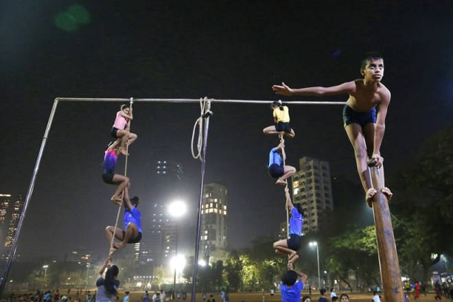 The traditional sport Mallakhamb indianspice news