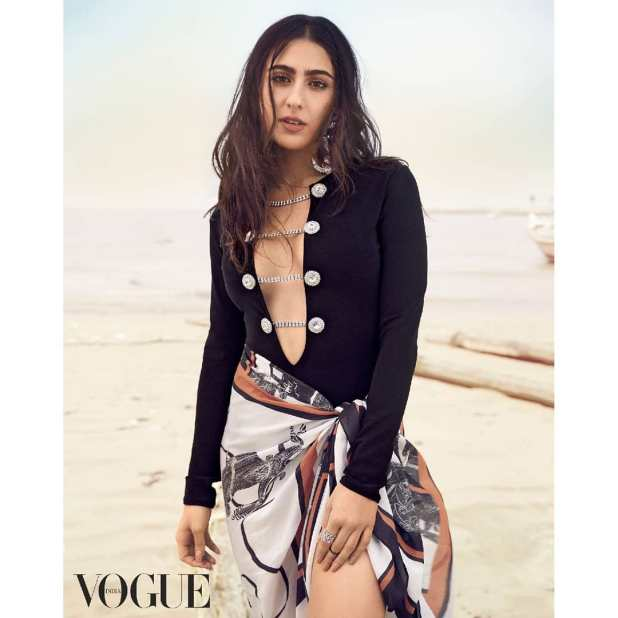 vogue cover shoot sara ali khan indian spice news