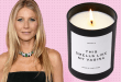 Gwyneth Paltrow Cookie Candle