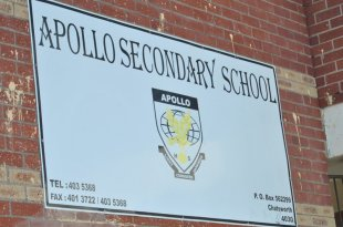 Apollo Secondary School Chatsworth COVID-19