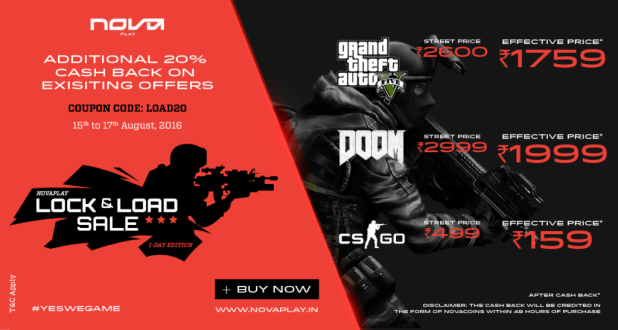 AMAZING GREAT INDIAN GAMES' SALE