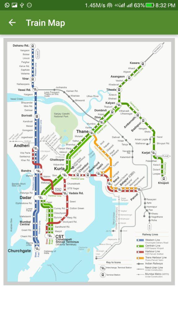 Zophop Mumbai Map